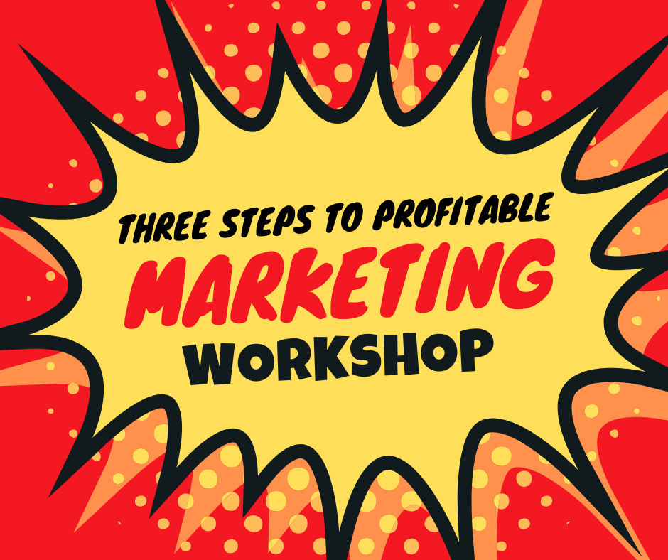 Three Steps To Profitable Marketing Workshop