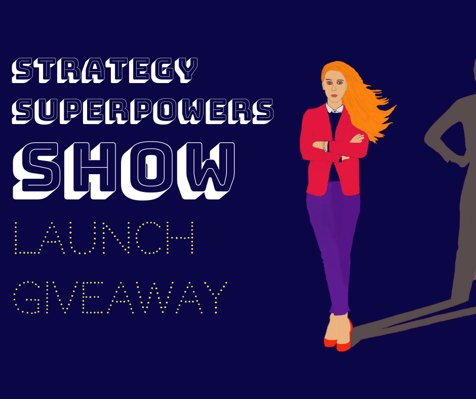 Strategy Superpowers Launch Giveaway